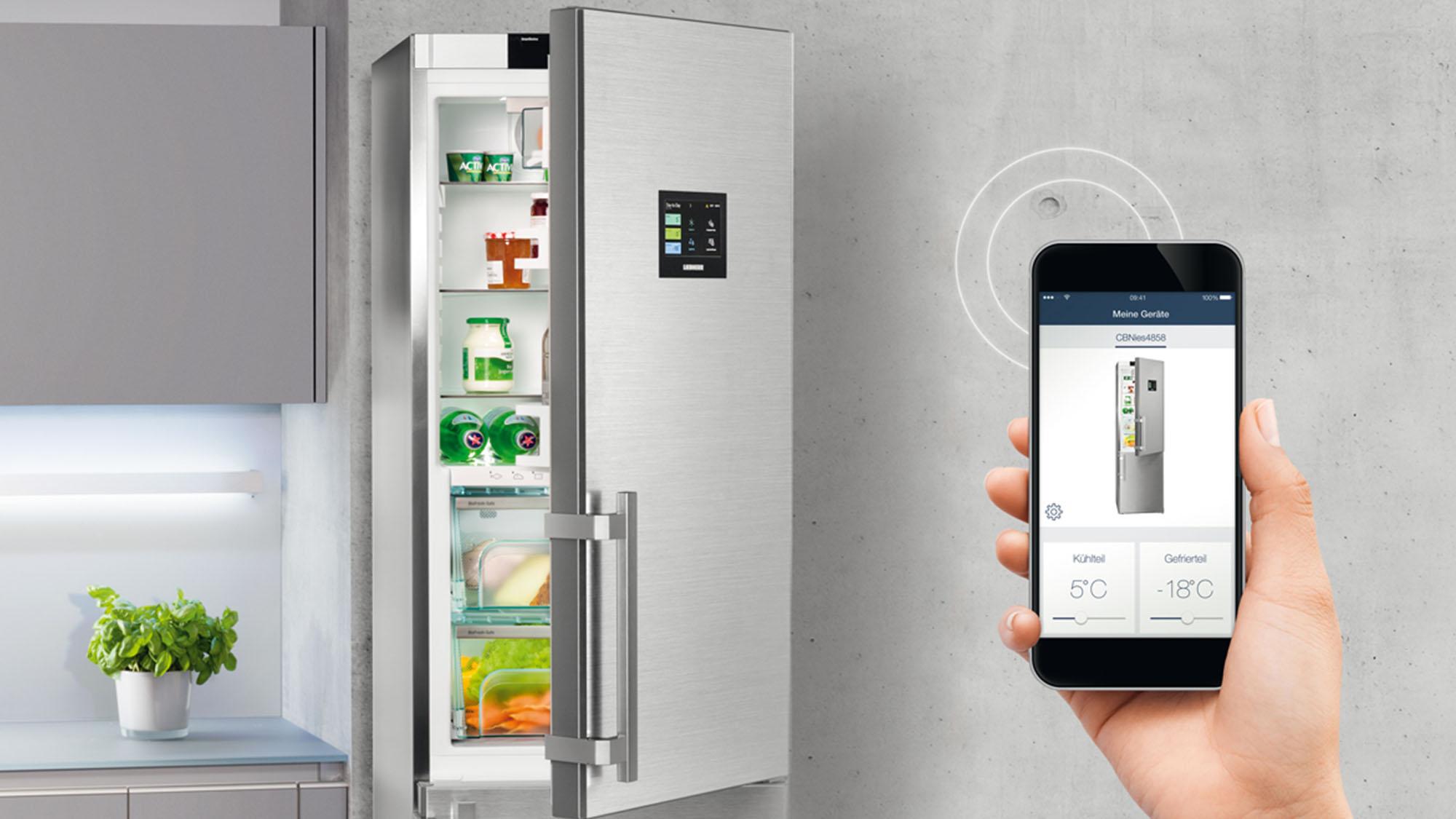 Aplikácie Smart Devices Liebherr
