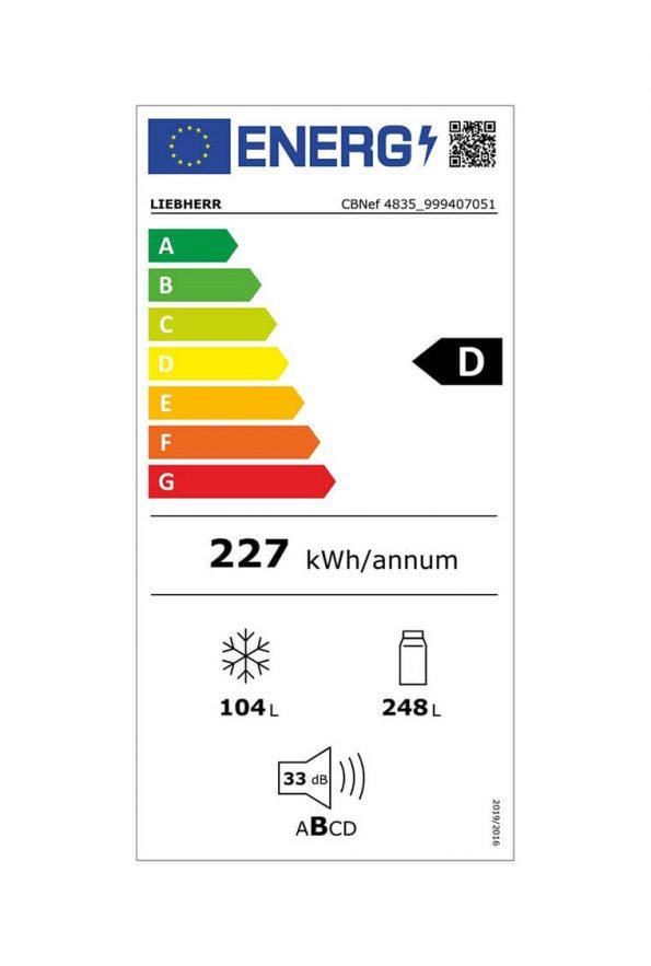 kombinovana-chladnicka-liebherr-CBNef-4835-energeticka-trieda