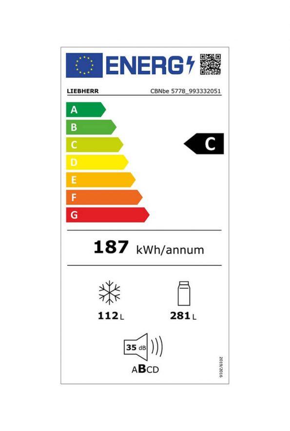 kombinovana-chladnicka-s-mraznickou-CBNbe-5778-energeticka-trieda