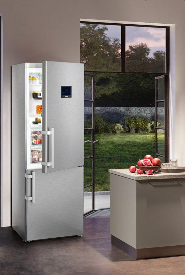 Kombinovaná chladnička s mrazničkou dole Liebherr CBNes-5778
