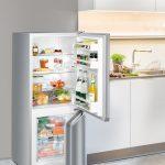 Voľne stojaca kombinovaná chladnička s mrazničkou dole CUel 231-21